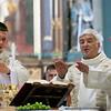 Dimanche 22 avril 2012, la messe du dimanche matin.<br /> La messe de 10h est donnée avec tous les choeurs de l'Association Saint-Henri (et la  Cécilienne d'Oron).