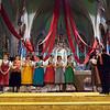 Jeudi 19 avril 2012, église de Promasens: la remise des médailles pour 25 ans de fidélité au chant sacré à l'issue du concert devant le jury.