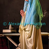 """Vendredi 20 avril 2012, Promasens, salle polyvalente: le spectacle intitulé """"L'coup du lapin"""" donné par la troupe du Cabaret d'Oron. La Vierge Marie..."""