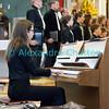 Samedi 21 avril 2012, Promasens, le concert des choeurs d'enfants à l'église.  Ici, l'Annonciade (Maîtrise de la Glâne, Romont), choeur dirigé par Yves Piller.