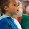 Samedi 21 avril 2012, Promasens, le concert des choeurs d'enfants à l'église. Ici, les Zéphirs (Châtonnaye-Middes), dirigés par Jean-Marie Marchon.