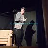 """Vendredi 20 avril 2012, Promasens, salle polyvalente: le spectacle intitulé """"L'coup du lapin"""" donné par la troupe du Cabaret d'Oron. Sherlock Holmes de la partie."""