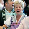 Dimanche 22 avril 2012: le chant, toujours le chant, même pendant le banquet!