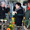 Samedi 21 avril 2012, Promasens: le marché artisanal des Céciliennes se déroule de 11h à 17h entre la salle polyvalente et l'église.