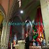 Jeudi 19 avril 2012, église de Promasens: le discours du conseiller d'Etat et président du comité d'organisation Georges Godel à l'issue du concert devant le jury.
