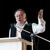 Dimanche 22 avril 2012, le discours de l'expert Francis Volery, qui encourage notamment les membres des chorales fribourgeoises à chanter partout, même au bistrot.