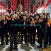 Samedi 21 avril 2012, concert des choeurs paroissiaux. Ici, le compositeur de la messe, Gonzague Monney, se présente au public et est applaudi par le choeur mixte d'Ursy sous la direction de Philippe Demierre.