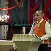 Samedi 21 avril 2012, Promasens, Eglise. <br /> Au programme, dès 20h00, les choeurs paroissiaux de Promasens, Chapelle-Gillarens, Remaufens, Châtel-St-Denis, Rue, Attalens, Saint-Martin, Porsel, Semsales, Ursy, Le Crêt. <br /> Ici, le discours du vice-président du comité d'organisation des Céciliennes 2012, Claude Gremaud.