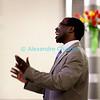 Samedi 21 avril 2012, Promasens, Eglise. Concert des choeurs paroissiaux. Ici, Fulgence Nsanzimana dirige le choeur-mixte de Rue.