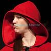 """Vendredi 20 avril 2012, Promasens, salle polyvalente: le spectacle intitulé """"L'coup du lapin"""" donné par la troupe du Cabaret d'Oron. Le petit Chaperon rouge..."""