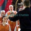 Samedi 21 avril 2012, Promasens, Eglise. Concert des choeurs paroissiaux. Ici, le choeur-mixte de Chapelle-Gillarens sous la direction d'Etienne Crausaz.