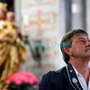Samedi 21 avril 2012, concert des choeurs paroissiaux. Ici, le directeur du choeur mixte du Crêt Jean-Daniel Sciboz.