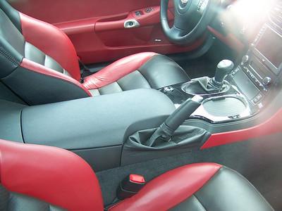 Zo6 Corvette interior