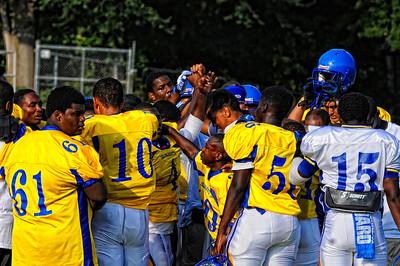CARVER BLUE VS GOLD FOOTBALL GAME 2012
