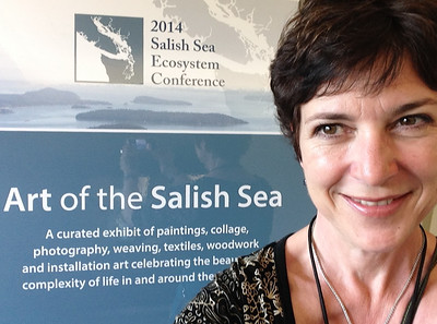The Salish Sea Ecosystem Conference and Art Show April 29th-May 2nd Washington State Conference Centre, Seattle Washington  Invited to exhibite my Fisherman's Wharf Series.  http://www.wwu.edu/salishseaconference/