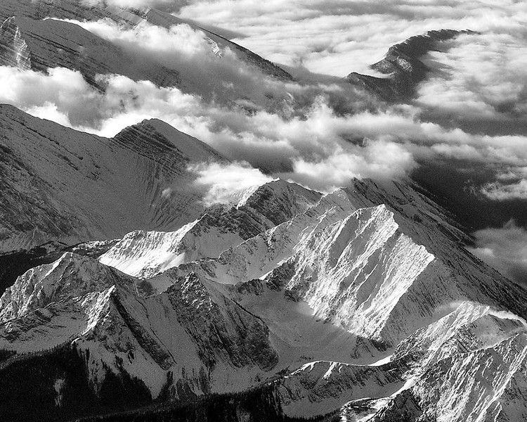 Back In Time 16 x 20 Framed Print $550.00 Taken from the window on a flight into Calgary.  Successfully Auctioned at the Banff Midsummer Ball July 19-21.   Brochure page 37 http://www.banffcentre.ca/support/events/midsummerball/pdf/Midsummer-Ball-Auction-Catalogue-2014.pdf