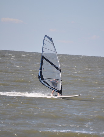 CBS windsurfing