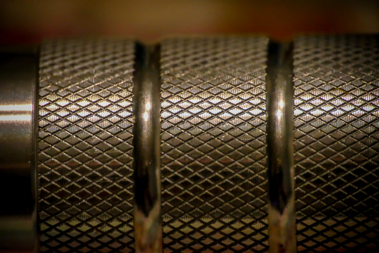 This is a small flashlight handle taken with the Raynox 150 Close Up Lens