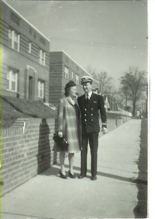 1943 - Mom and Dad in Washington, DC where Lt. Prescott was stationed at NAS Anacostia