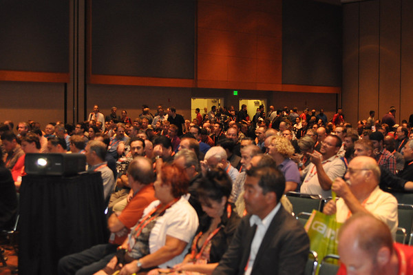 Keynote crowd at past Expo
