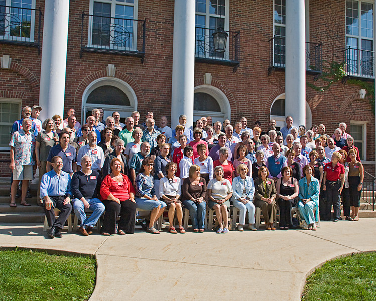 CLASS OF 1958! Here we all are, 50 years later, and lookin good! Please note that our dear friend Ed is in the picture!