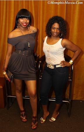 Danielle (L) & Alexis (R)