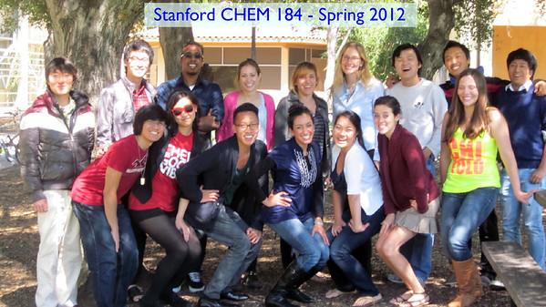 CHEM 184 - 2012
