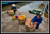 Fruit and nut vendors...
