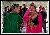 Mongolian dancers...