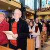 J.S.CARRAS/THE RECORD Parishioners of   St Anthony of Padua Shrine/Parish  celebrate Christmas Mass Tuesday, December 24, 2013 in Troy, N.Y..