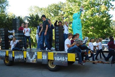 09-24-2010 - CHS Freshman Homecoming Float - Class of 2014