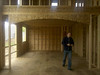 Looking in from the great room to the kitchen.  All the archways are rounded.