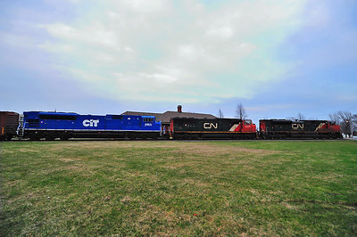 Canadian National #324, St-Jean, Qc