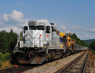 Central Maine & Quebec, Rail Train, Vachon, Qc  August 12 2014.