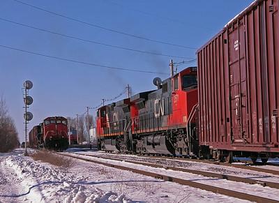 CN 328 & 329  CPC 191 Rouses Point NY February 2005