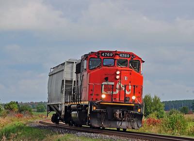 CN 514 St-Perpétue Qc  September 18 2014.
