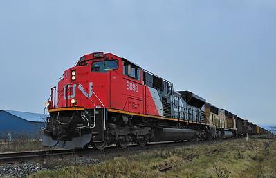 Canadian National #529, L'Acadie Qc