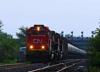 Canadian National, U700, Les Cèdres, Qc