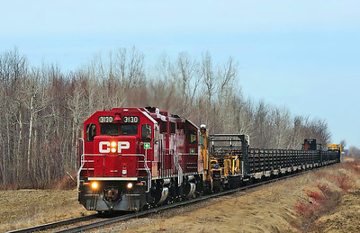 Canadian Pacific, Work Train (CWR), Napierville, Qc