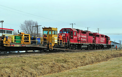 Canadian Pacific Work Train(CWR), Lacolle, Qc