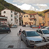 The only piazza in Colonnata.