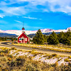 Little Red Church, near Leadville CO