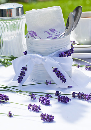 lavender decoration ribbon