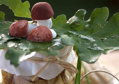 Hanmade Decorations - Mushrooms