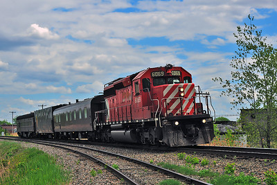 Canadian Pacific Tec Train, St-Jean Qc