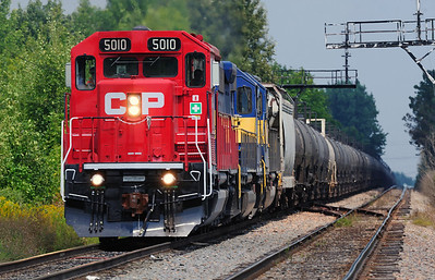 CP/D&H 642, Rouses Point NY  August 21 2013