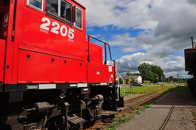 Canadian Pacific, Tec Train, St-Jean Qc
