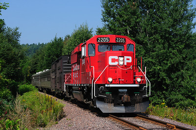 Canadian Pacific Tec Train, Grenville Bay Qc