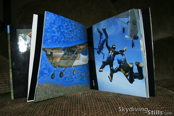 As a special bonus, the book includes a copy of a Cessna photo-mosaic made up of about 3,600 individual photographs.  Can you find yourself??<br /> <br /> To order a copy, email me or see me at the dropzone.  The price will be between $25 and $35, depending on what version you order and the total number of books included in my order.