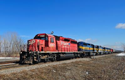 Canadian Pacific/D&H #643, Adirondack Jct, Qc